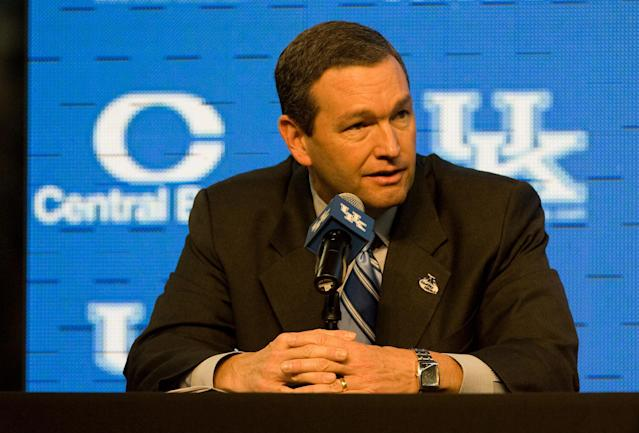 Kentucky AD Mitch Barnhart doesn't see the SEC changing scheduling to only include 'power five' conference