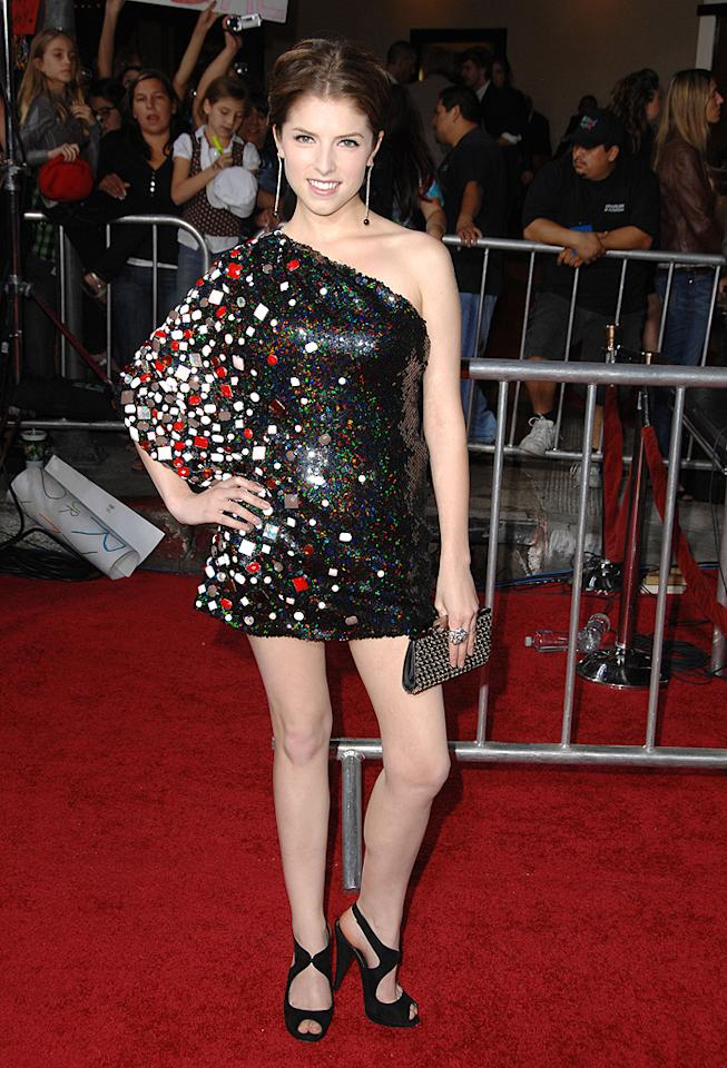 """WESTWOOD, CA - NOVEMBER 16: Anna Kendrick  the premiere of Summit Entertainment's """"The Twilight Saga: New Moon"""" on November 16, 2009 in Westwood, California. (Photo by Steve Granitz/WireImage)"""