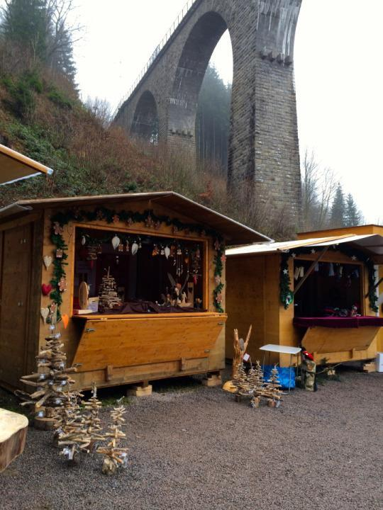 <p>Drive into the mountains to explore the markets in Germany's Black Forest region, where the cuckoo clock and the black forest cake were popularized. These markets are more rustic and outdoors — so button up. Bonfires and glühwein will also help keep you warm.</p>