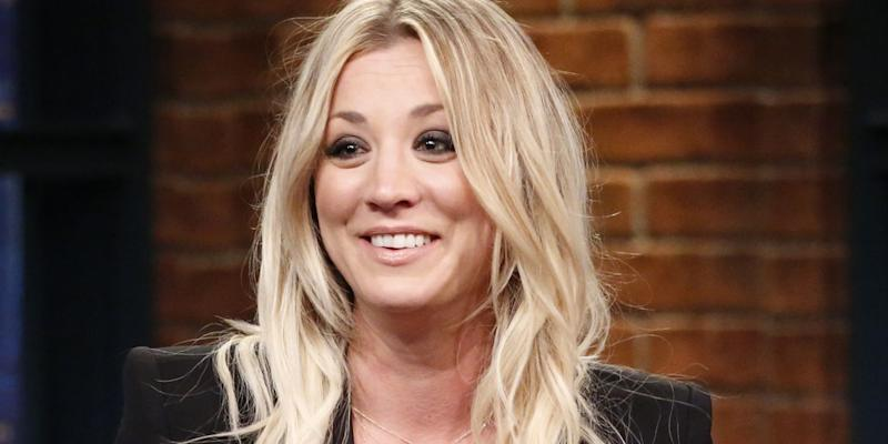 Big Bang Theory Star Kaley Cuoco Shows Off Her Lingerie In Photo
