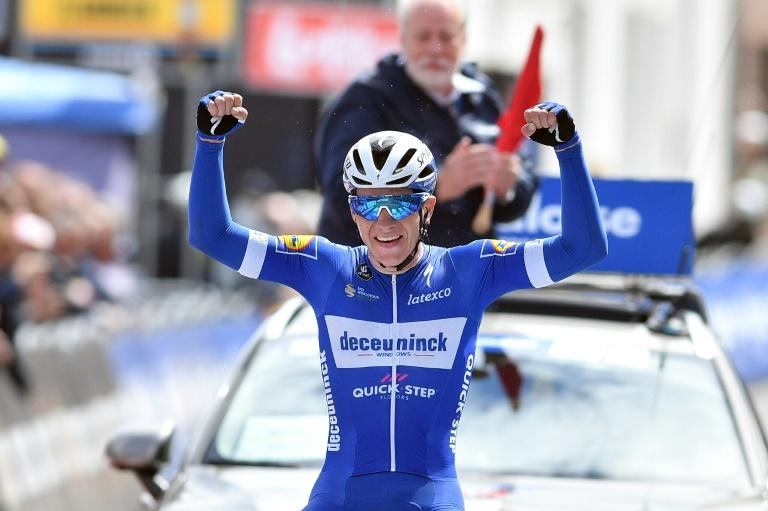 Evenepoel 'gives everything for Fabio' after Tour of Poland stage win