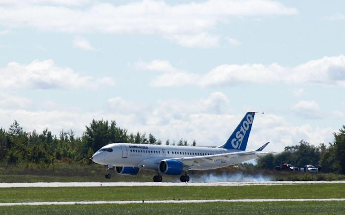Bombardier aircraft CSeries - AFP