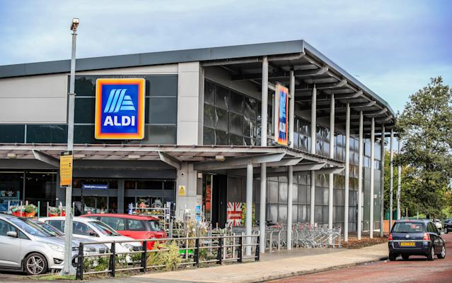 An Aldi store in Marsh Lane Bootle, Liverpool. (Peter Byrne/PA Wire/PA Images)