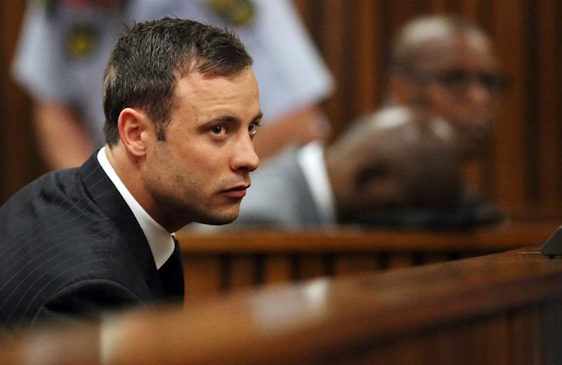 South African Paralympic athlete Oscar Pistorius, pictured on September 12, 2014, will stay in jail after a decision to grant him parole was again delayed (AFP Photo/Siphiwe Sibeko)