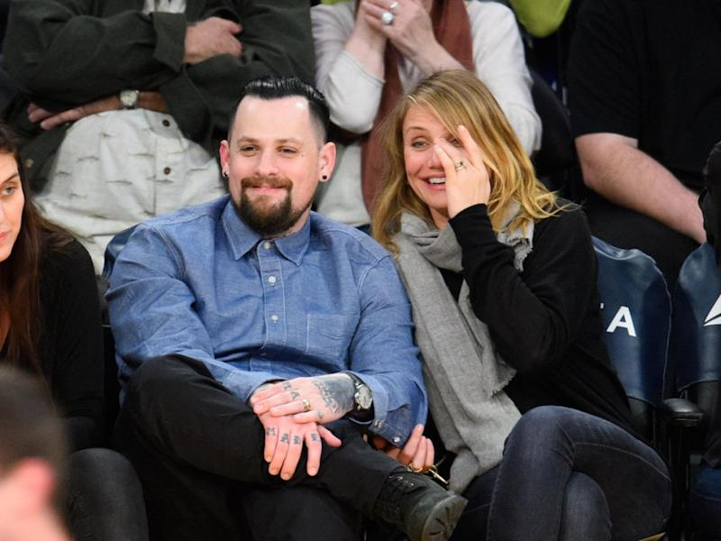 Back in 2015, Cameron married singer Benji Madden after just two weeks of dating. Source: Getty