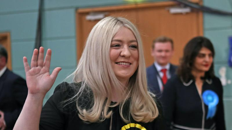 MP Amy Callaghan leaves hospital four months after brain haemorrhage