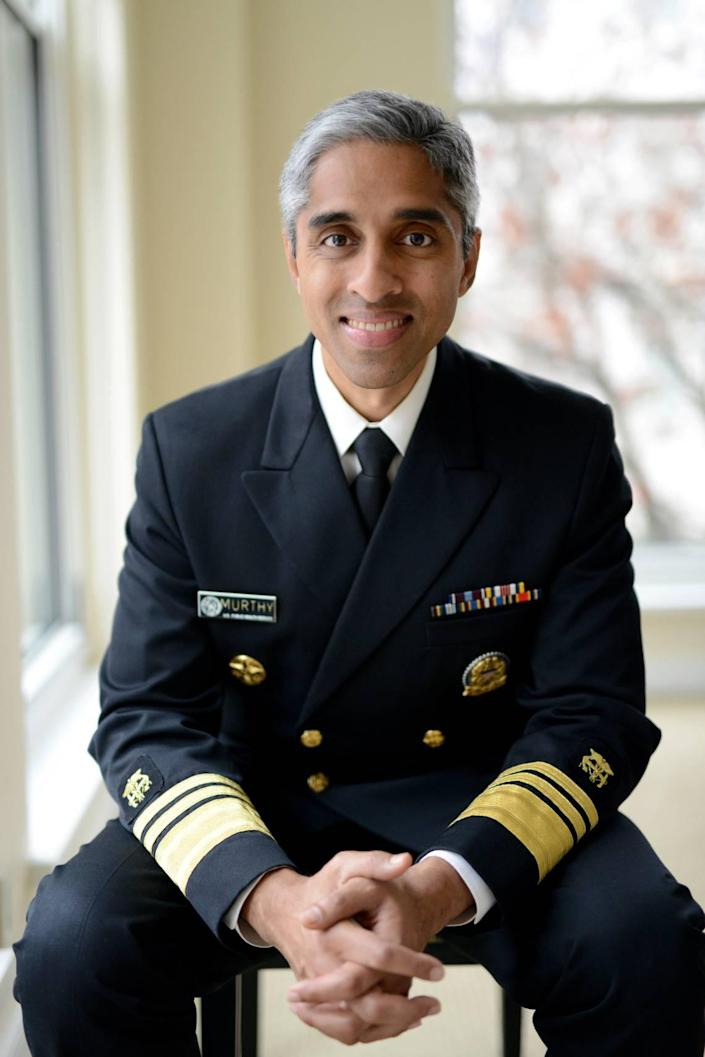 Vivek Murthy, 19th Surgeon General of the United States.
