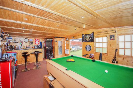 Man Cave Sheds Uk : The ultimate man cave home with ft wide £ k retreat
