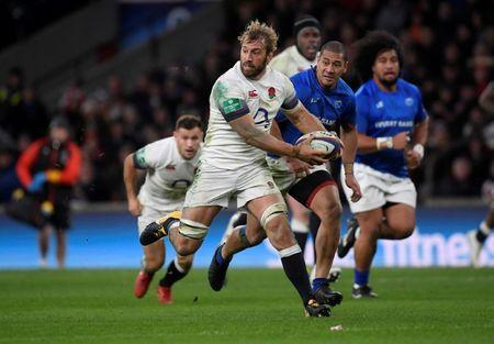 Rugby Union - Autumn Internationals - England vs Samoa - Twickenham Stadium, London, Britain - November 25, 2017 England's Chris Robshaw in action REUTERS/Toby Melville