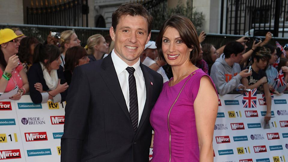 Ben Shephard says Annie, his wife of 16 years finishes his sentences as well! (Image: Getty Images)