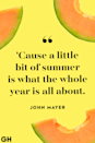 <p>'Cause a little bit of summer is what the whole year is all about.</p>