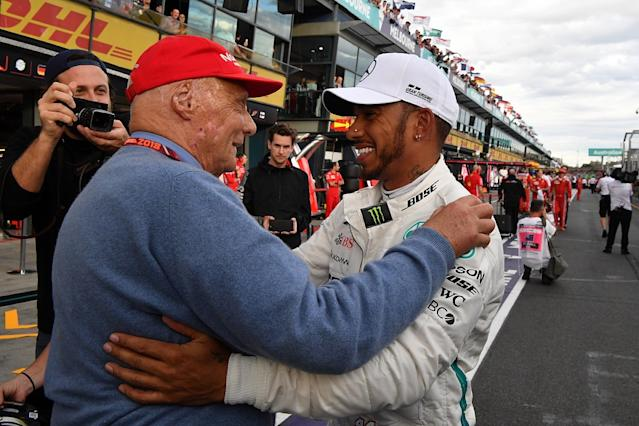 Hamilton found comfort in old Lauda text messages