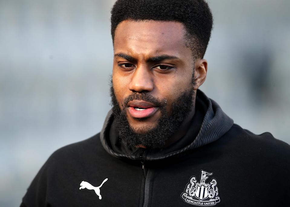 Newcastle's Danny Rose made headlines earlier this week by criticizing the Premier League's haste to return amid the coronavirus pandemic. And he's right. (Photo by Ian MacNicol/Getty Images)