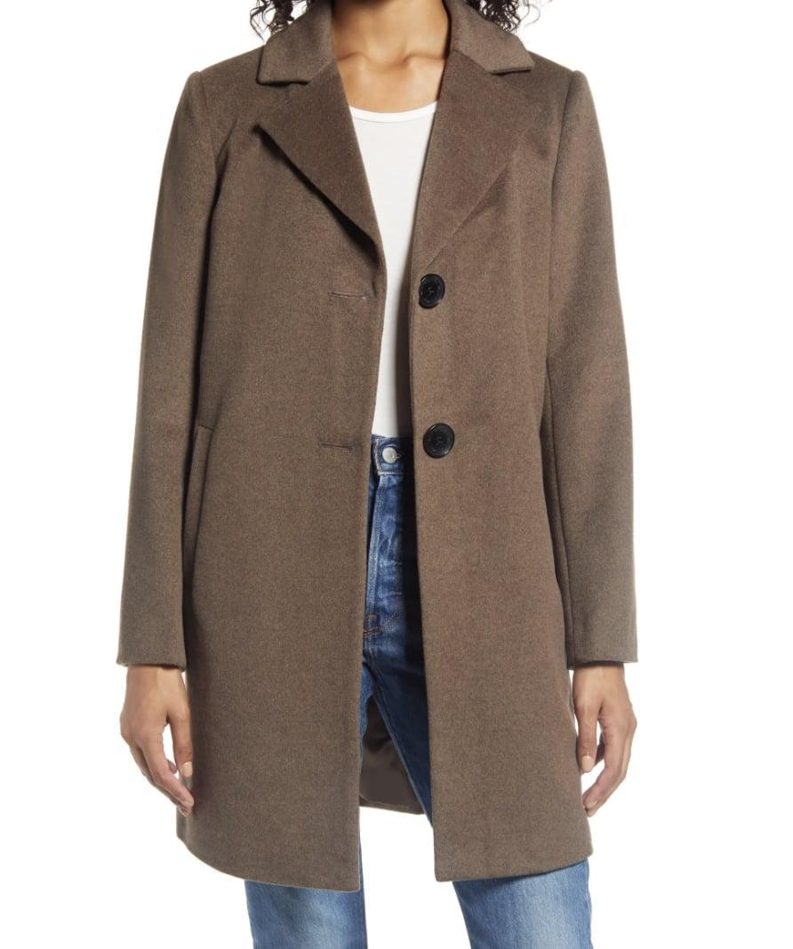 <p>This <span>Sam Edelman Wool Blend Coat</span> ($150, originally $220) will stand out no matter where you go.</p>