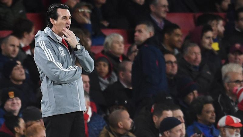 The pressure mounts on Arsenal manager Unai Emery after their home loss to Eintracht Frankfurt