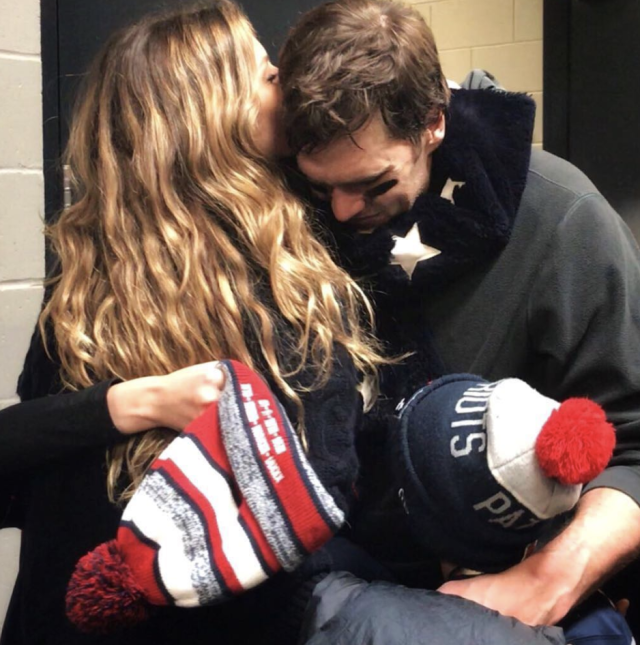 "<p>""Congratulations Eagles for winning the Super Bowl, what a game that was,"" the supermodel graciously wrote alongside a photo of herself hugging husband Tom Brady, quarterback for the New England Patriots, after their stunning loss. ""Congratulations Patriots for giving your best and to my love, we are incredibly proud of you because we are able to see ever day all the commitment, sacrifice and hard work that you have devoted to become the best in what you do. We love you."" (Photo: <a href=""https://www.instagram.com/p/Be0Pp8_lOUm/?taken-by=gisele"" rel=""nofollow noopener"" target=""_blank"" data-ylk=""slk:Gisele via Instagram"" class=""link rapid-noclick-resp"">Gisele via Instagram</a>) </p>"