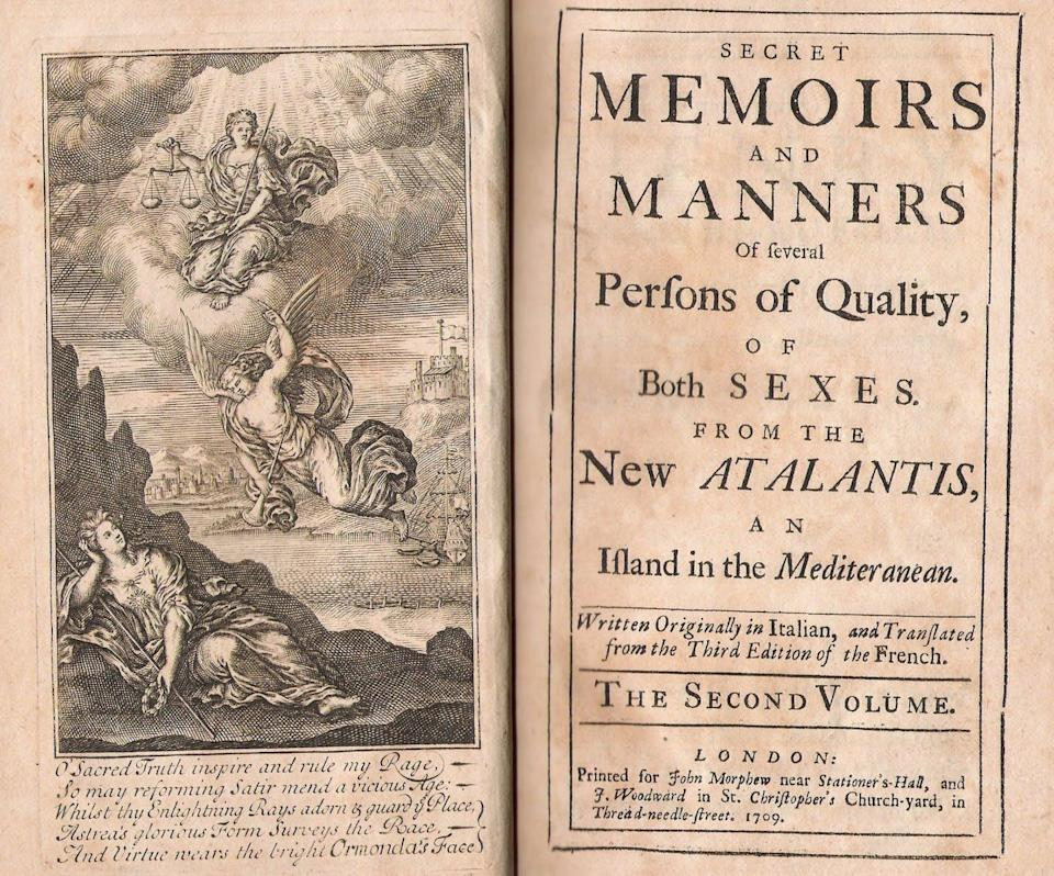 """<span class=""""caption"""">An example of 18th-century right-wing conservative commentary: 'The New Atalantis.'</span> <span class=""""attribution""""><a class=""""link rapid-noclick-resp"""" href=""""https://transliteracies.english.ucsb.edu/index.html%3Fp=697.html"""" rel=""""nofollow noopener"""" target=""""_blank"""" data-ylk=""""slk:Transliteracies Project"""">Transliteracies Project</a></span>"""