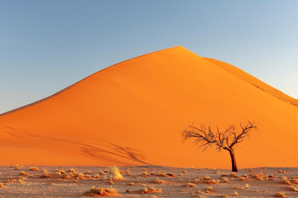 The UK has a travel corridor with Namibia – although with no direct flights, you will still need to quarantine on your return to the UK - Getty