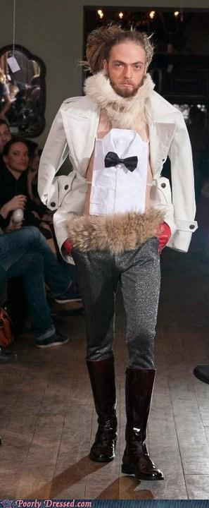 """<div class=""""caption-credit""""> Photo by: poorlydressed.failblog.org</div>The Tuxedo Display Look"""