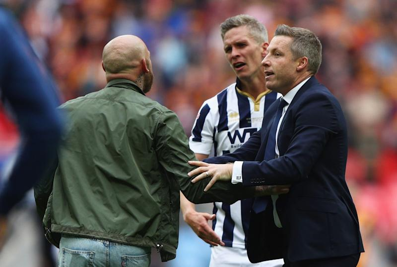 Millwall: EFL calls Wembley pitch invasion 'completely unacceptable'