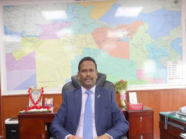 M Suresh, Member (Air Navigation Services) at Airports Authority of India (AAI) (ANI)