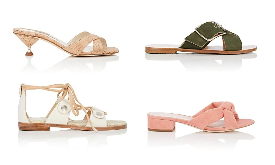 For a limited time, Barneys Warehouse is discounting spring shoes by 50 percent off sale prices. (Photo: Barney's Warehouse)