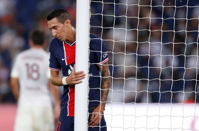 PSG's Di Maria banned four games for part in brawl