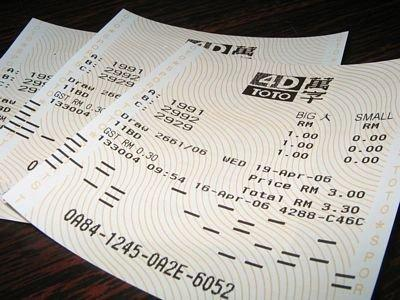 """""""Investing"""" in the Lottery? The Math behind Toto and 4D in Singapore"""