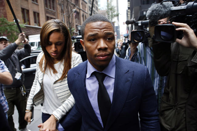 It doesn't look like the NFL has learned any lessons from the 2014 case involving Ray Rice and wife Janay Palmer.  (AP)