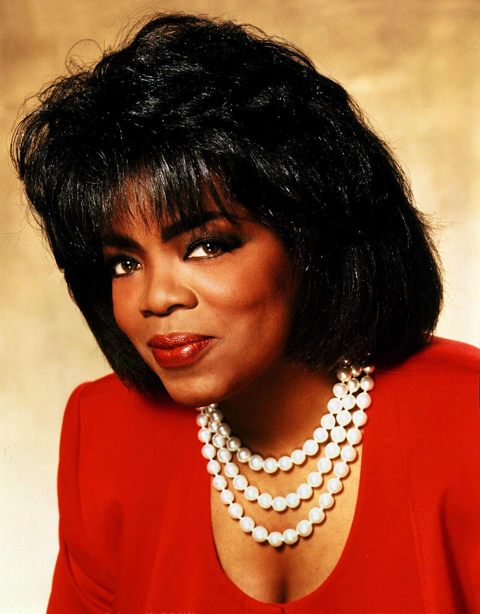 "<strong><h2>Oprah</h2></strong>If you're going to be a woman of colour, why not be one of the most powerful and influential ones? Oprah's reputation precedes her as the richest Black woman in America, the Queen of daytime television, and a GIF goddess among other things. Just think about how often you've seen this looping image. And you can recreate it.<br><br>Position <a href=""https://www.wigtypes.com/freetress_equal_synthetic_hair_wig_green_cap_010.php"" rel=""nofollow noopener"" target=""_blank"" data-ylk=""slk:a pixie cut wig"" class=""link rapid-noclick-resp"">a pixie cut wig</a> so that the short part is in the front. Make sure you tease it out so that it mimics the volume of Oprah's hair. <a href=""https://express.google.com/u/0/product/4678013459658336484_4964430715986170237_123327692?mall=WashingtonDC&directCheckout=1&utm_source=google_shopping&utm_medium=product_ads&utm_campaign=gsx"" rel=""nofollow noopener"" target=""_blank"" data-ylk=""slk:Grab a red suit"" class=""link rapid-noclick-resp"">Grab a red suit</a> and some pearls and at every hour on the hour yell ""You get a car! YOU GET A CAR!""<span class=""copyright"">Photo: Kobal/REX/Shutterstock.</span>"