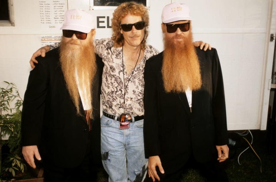Photo of Billy GIBBONS and Dusty HILL and Frank BEARD and ZZ TOP
