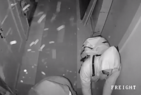 CCTV release by NYPD after the jewel heist.