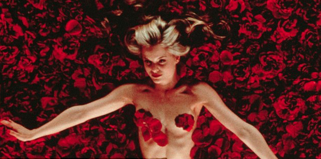 A film still from the 2000 classic American Beauty where Paris got her inspiration from. Source: Supplied