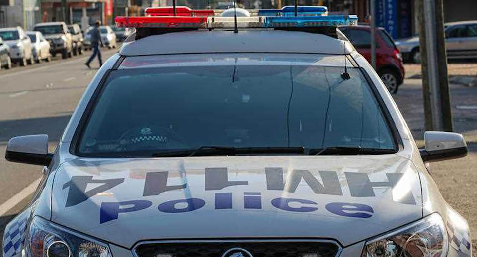 A WA Police car is pictured.
