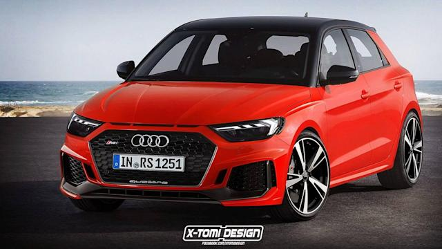 The hypothetical RS1 is nice and all, but we would rather have an A1 Allroad.