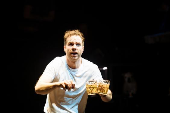 Rafe Spall as Michael in The Death of England (Helen Murray)