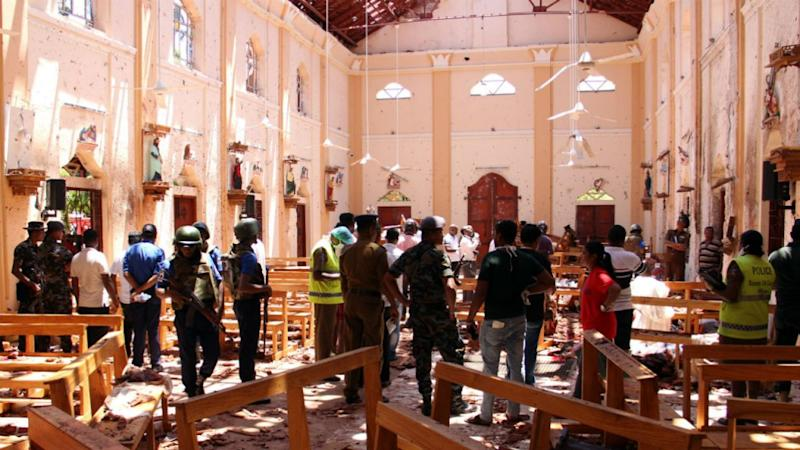Nearly 300 killed as blasts hit Sri Lankan churches, hotels on Easter Sunday