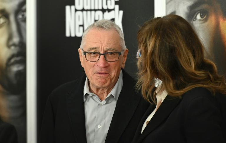 """Robert De Niro, famed for his own portrayal of mobsters, was among the audience for 'The Many Saints of Newark"""" at the Beacon Theatre (AFP/Angela Weiss)"""