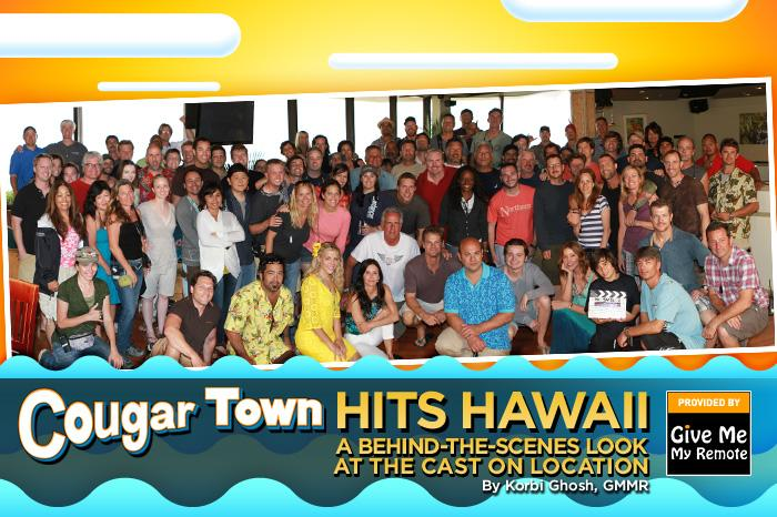 "The second season of ""<a href=""/cougar-town/show/44787"">Cougar Town</a>"" will come to an end this Wednesday, May 25 in a one-hour finale that was filmed at the Turtle Bay Resort on the island of O'ahu, Hawaii. We were lucky enough to travel alongside the actors and get an inside look at the fun they had while shooting this season-ender. Take a peek at the pics and get some scoop on what to expect from the episode. — <a href=""http://www.givememyremote.com/remote/"" rel=""nofollow"">Give Me My Remote</a>"