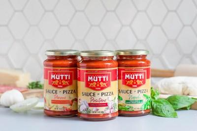 Mutti® introduces new Sauces for Pizza.