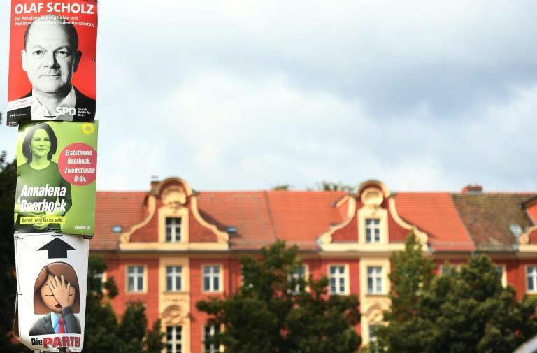 Scholz and Baerbock could still become MPs even if they lose in Potsdam Germany (AFP/Tobias Schwarz)