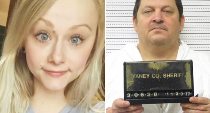 Pictured on the left is Sydney Loofe and on the right is a photo of Aubrey Trail.