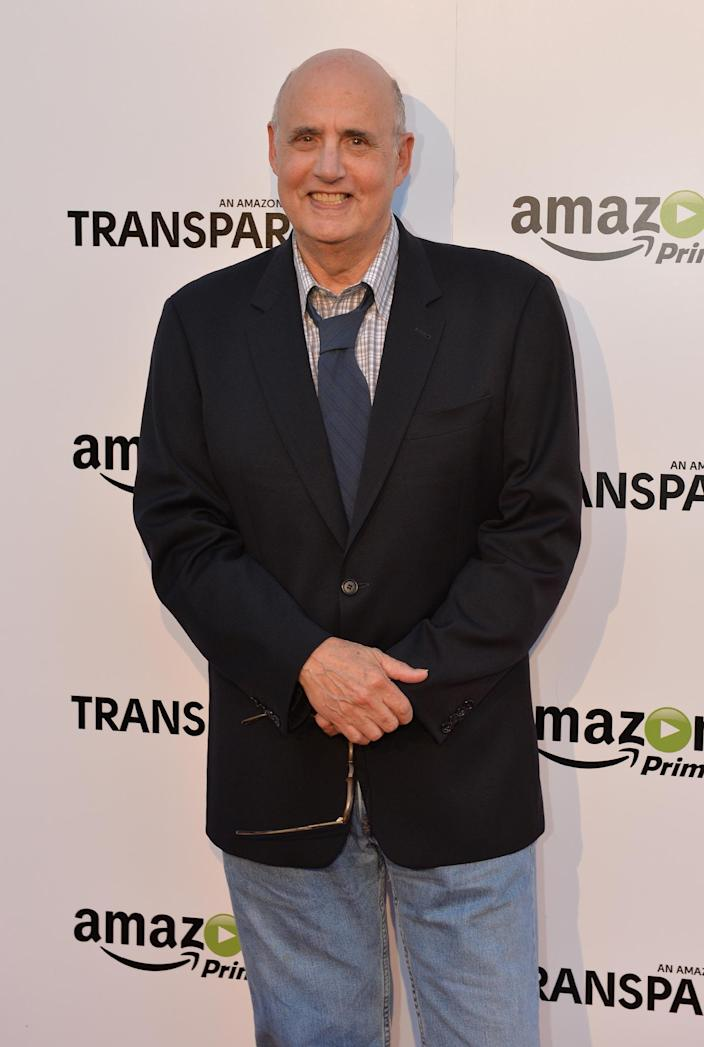 Actor Jeffrey Tambor arrives for the premiere of Amazon Prime's 'Transparent', at the Ace Hotel in Los Angeles, California, on September 15, 2014 (AFP Photo/Mark Ralston)