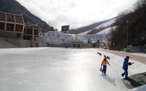 An eight hour ski session, at $100, is more than twice the monthly $30-$40 salary of the average North Korean - Credit: NK News