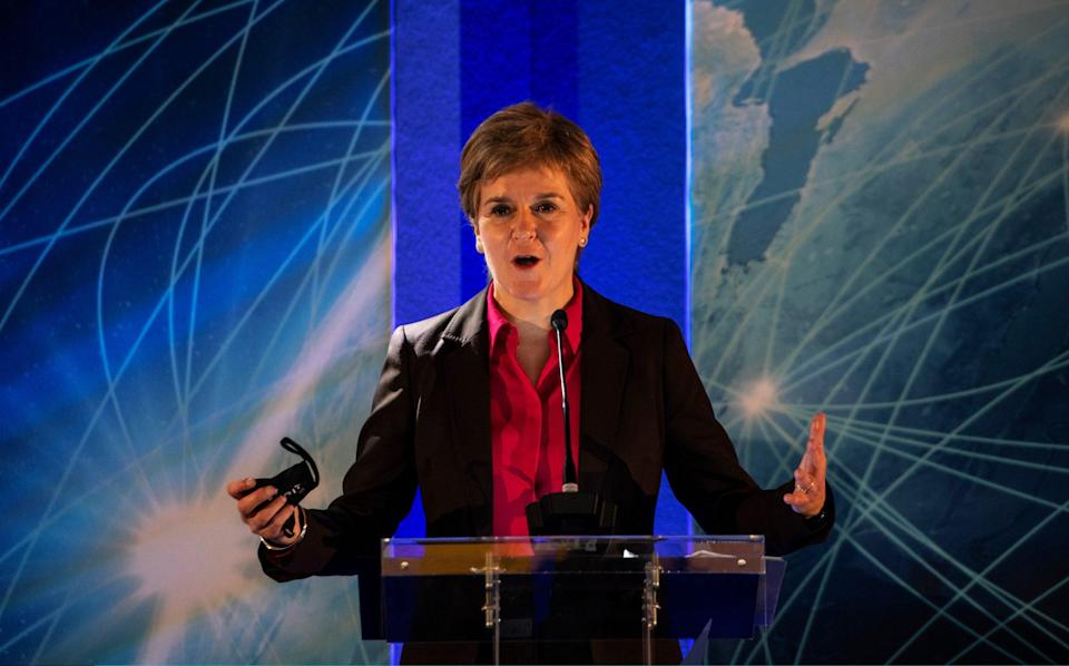 Nicola Sturgeon expanded the vaccine passport rules to cover areas in pubs and hotels with a 'designated space' for dancing - Andy Buchanan - Pool/Getty Images