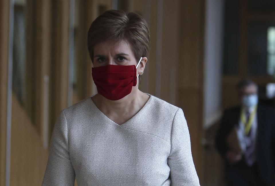 The Labour leader will attack the record of Nicola Sturgeon's Scottish Government on issues such as drug deaths and educational attainment (Fraser Bremner/Scottish Daily Mail/PA)