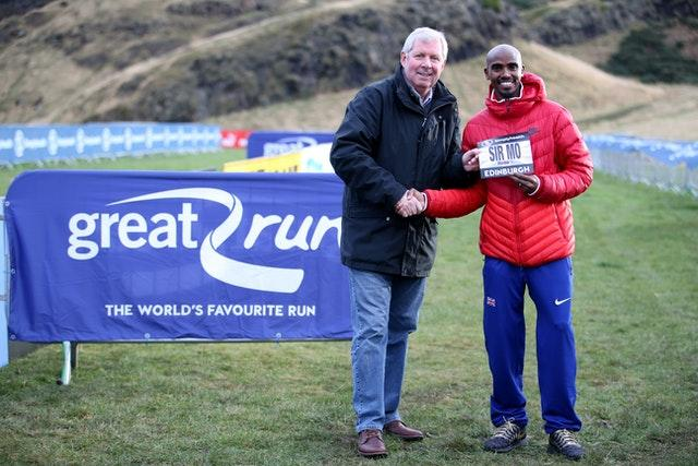 Brendan Foster joins Sir Mo Farah in receiving a knighthood