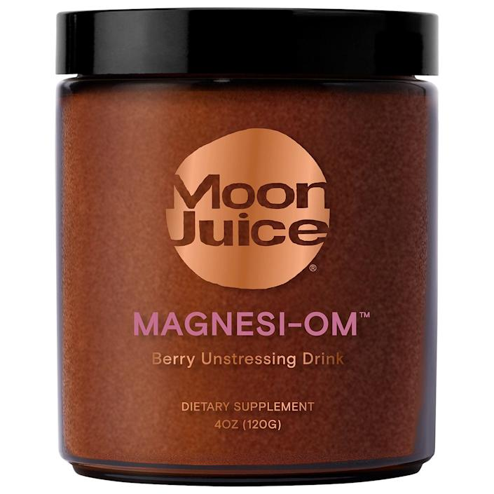 """<p><strong>Moon Juice</strong></p><p>sephora.com</p><p><strong>$42.00</strong></p><p><a href=""""https://go.redirectingat.com?id=74968X1596630&url=https%3A%2F%2Fwww.sephora.com%2Fproduct%2Fmagnesi-om-P452009&sref=https%3A%2F%2Fwww.townandcountrymag.com%2Fstyle%2Fg2095%2Fmothers-day-gift-ideas%2F"""" rel=""""nofollow noopener"""" target=""""_blank"""" data-ylk=""""slk:Shop Now"""" class=""""link rapid-noclick-resp"""">Shop Now</a></p><p>Kick start her self-care routine with Moon Juice's zen-inducing magnesium potion.</p>"""