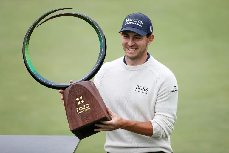 American Patrick Cantlay fired a seven-under par 65 in Sunday's final round to win the US PGA Zozo Championship