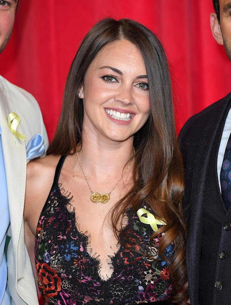 MANCHESTER, ENGLAND - JUNE 03: Lacey Turner attends the British Soap Awards at The Lowry Theatre on June 3, 2017 in Manchester, England. (Photo by Karwai Tang/WireImage)